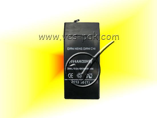 Аккумулятор (4V4.0Ah/20HR) - магазин Вес-Пак весы пакеты опт и розница