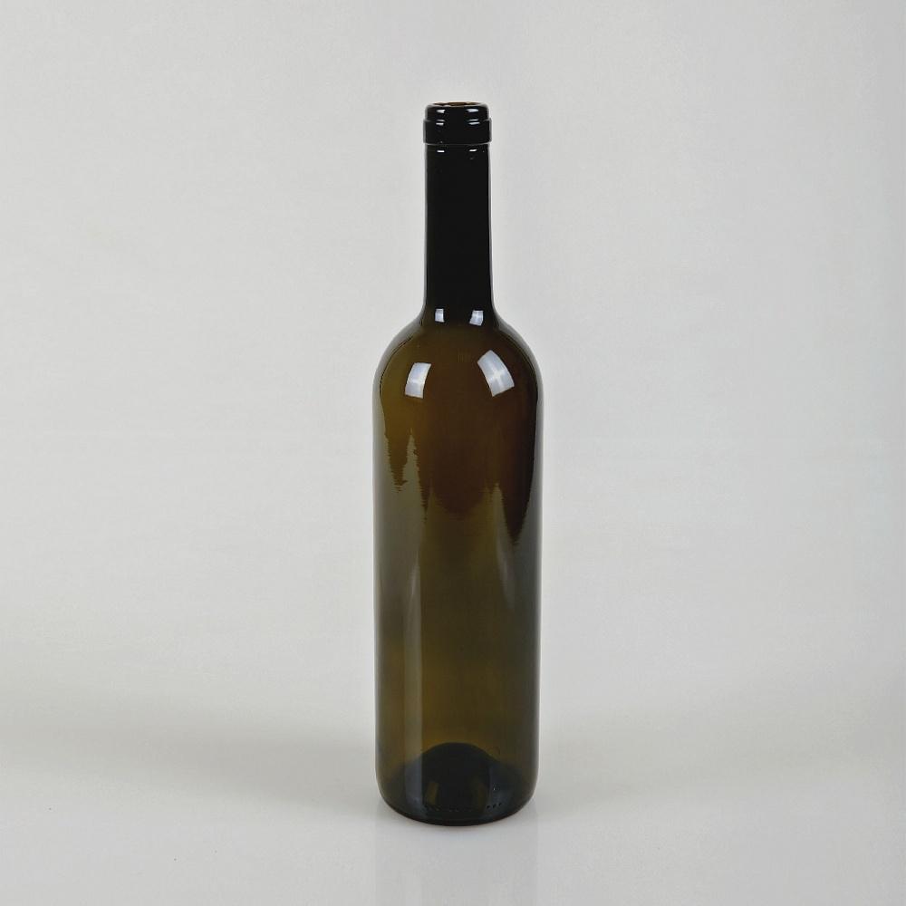 Бутылка 0,750 Бордо оливковая-магазин ВЕС-ПАК опт и розница-