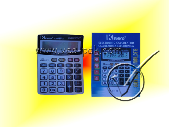 Калькулятор большой 8151-магазин ВЕС-ПАК опт и розница-калькулятор