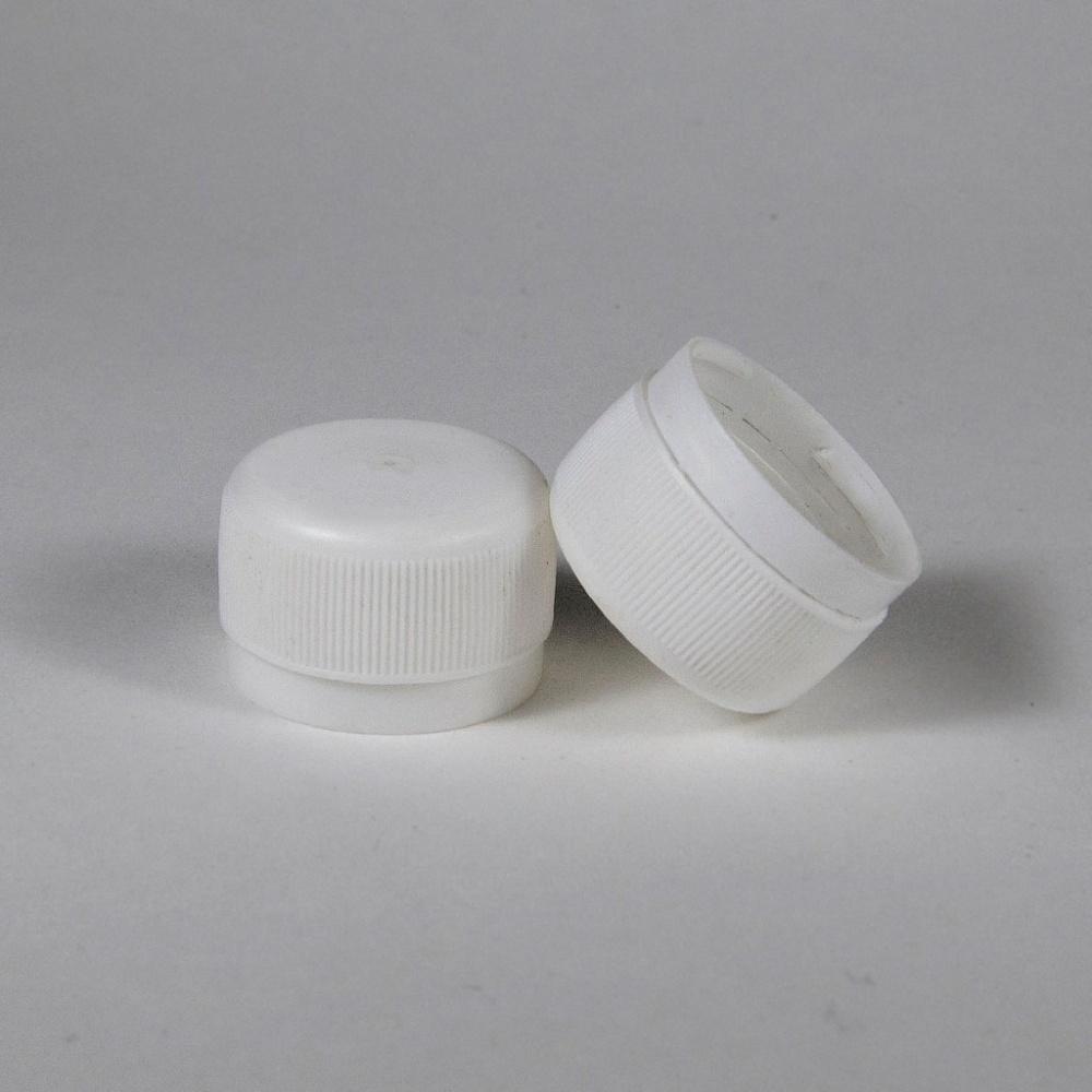 Крышка к бутылке ПЭТ винтовая (28) белая