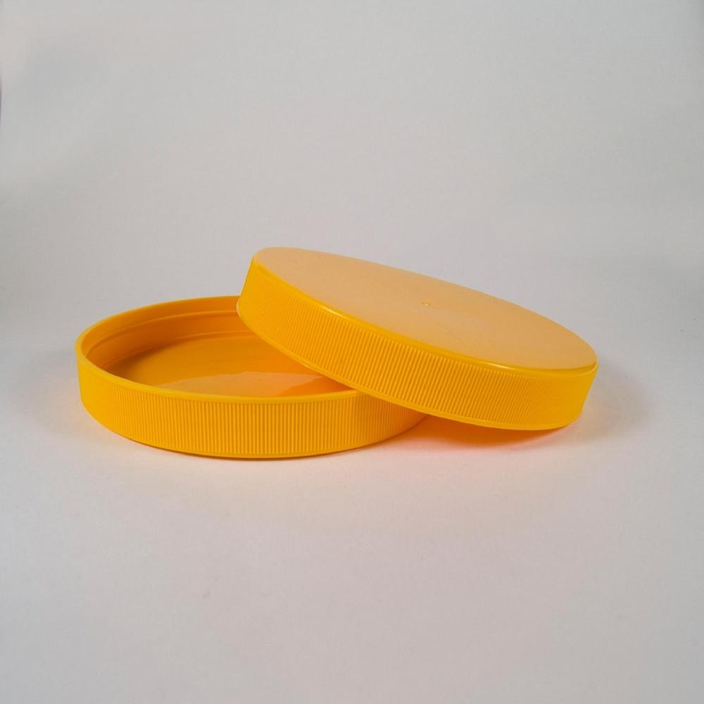 Крышка ПЭТ (110) желтая