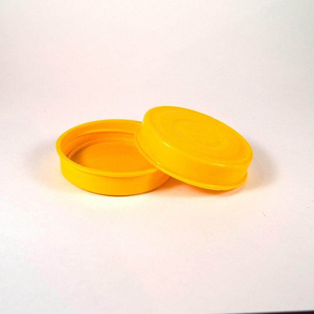 Крышка ПЭТ (58,5) желтая
