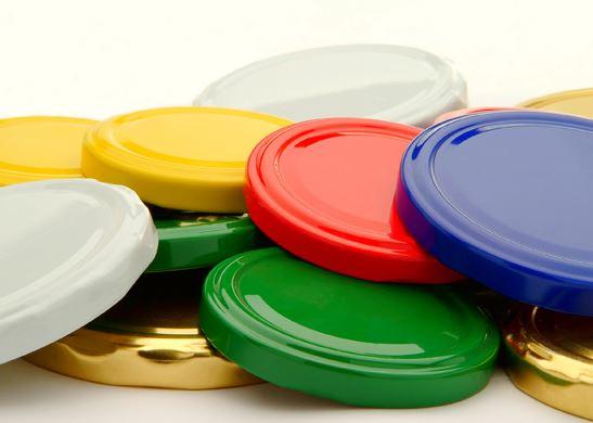 Крышки для закатки Твист 66 (белая,золото,зеленая,красная) Дары Лета