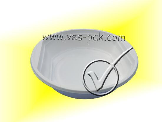 Тарелка 500мл (50шт) - магазин Вес-Пак весы пакеты опт и розница