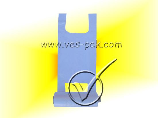 Пакеты майка в рулоне 24x42 (130шт)-магазин ВЕС-ПАК опт и розница-пакеты майка