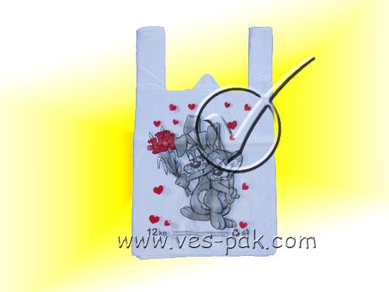 Заяц 27x40 (эконом) - магазин Вес-Пак весы пакеты опт и розница