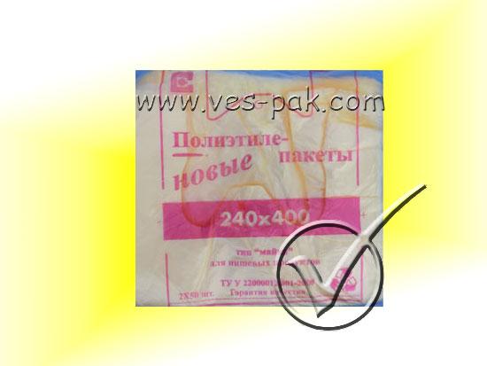 КрымПласт 24x40 100шт-магазин ВЕС-ПАК опт и розница-пакеты майка КрымПласт
