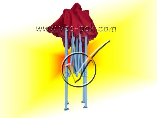 Шатер 2x2 (белый каркас)-магазин ВЕС-ПАК опт и розница-зонты, палатки, шатры