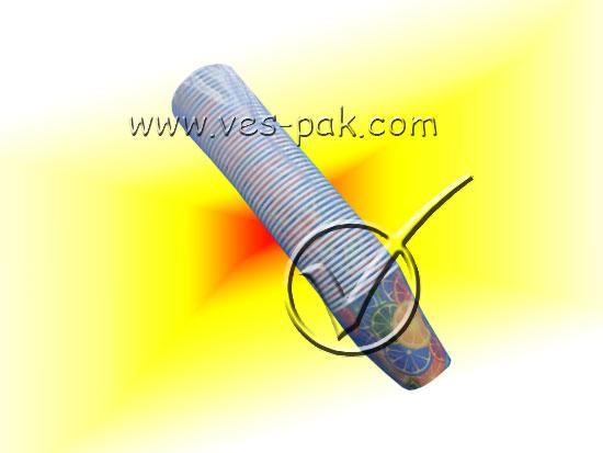 Стакан бумажный цветной 340мл (50шт)