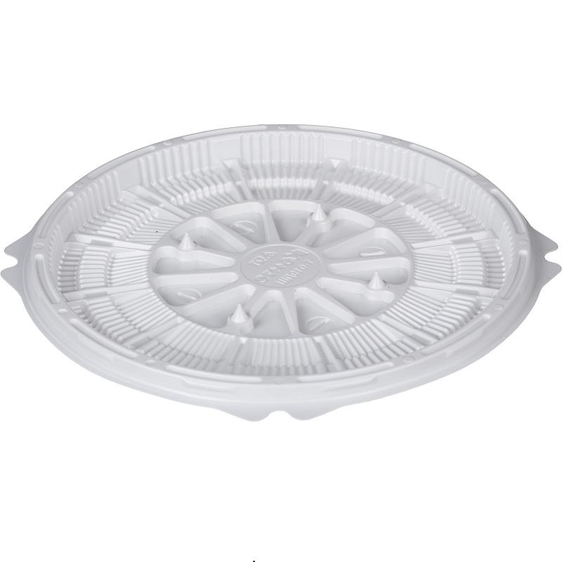 Упаковка для торта Емкость Т-019ДШ БЕЛАЯ
