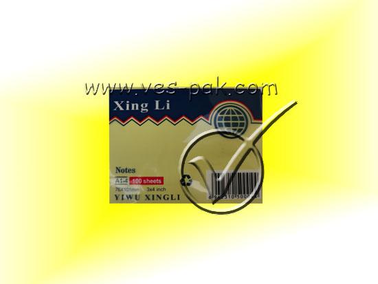 Стикер 3x4 клеющийся - магазин Вес-Пак весы пакеты опт и розница
